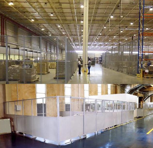 Montagem e manutenção de Divisórias industriais